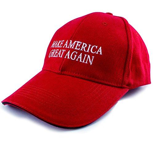 Make America Great Again Hat Donald Trump 2016 Red