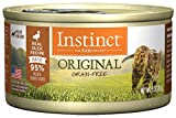 Instinct Original Grain Free Real Duck Recipe Natural Wet Canned Cat Food by Nature's Variety, 3 oz. Cans (Case of 24)