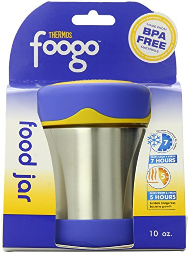 Thermos FOOGO Food Jar, Blue, 10 Ounce
