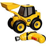 Toysmith Caterpillar Cat Take A Part Wheel Loader