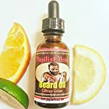 Beard Conditioner Oil by Pugilist Brand Citrus Grove