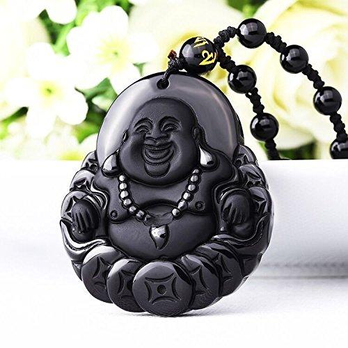 happy-buddha-pendant-cash-mascot-a-natural-obsidian