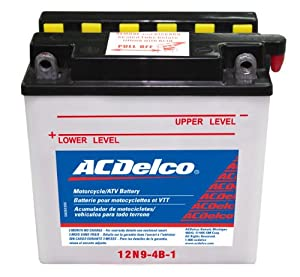 ACDelco Motorcycle & Powersports Batteries: Lead-Acid Conventional or AGM Batteries From $19.85