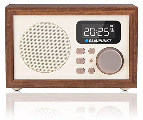 Blaupunkt-HR5BR-Radiowecker-MP3-microSD-USB-AUX-LCD-Display-Remote-Control