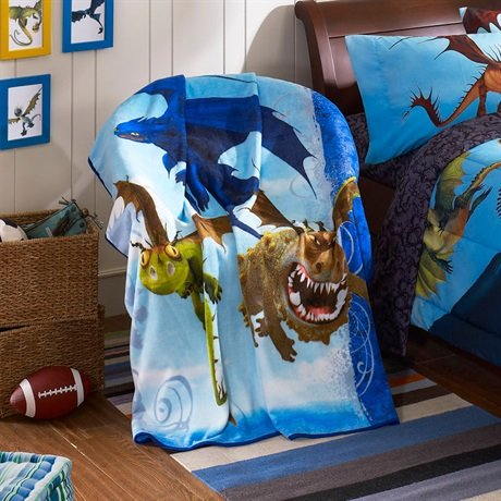 How to train your dragon bedding totally kids totally for Dragon bedroom ideas
