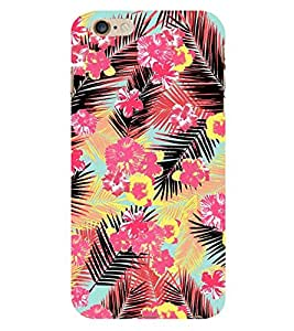 Amazing Floral Painting 3D Hard Polycarbonate Designer Back Case Cover for Apple iPhone 6S