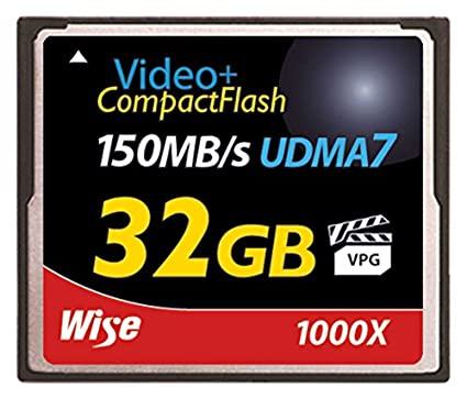 Wise-32GB-Compact-Flash-1000X-150MB/s-Memory-Card