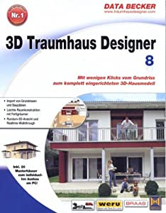 3d traumhaus designer 8 software for Diseno de interiores 3d data becker