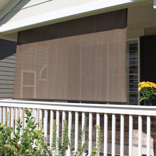 Keystone Fabrics 6115 Baja Exterior Roll Up Solar Shade Monterey 6 Feet By 6 Feet Find Best
