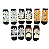 Rick And Morty Mr. Meeseeks 5 Pack No Show Ankle Socks (Family)