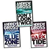 Andrew Gross Andrew Gross - Ty Hauck series 3 books collection set (The Dark Tide / Don't Look Twice / Killing Hour)
