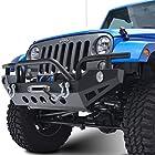 E-Autogrilles 07-15 Jeep Wrangler JK Xtreme Front Bumper (51-0307)