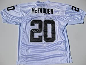 Darren Mcfadden, Oakland Raiders, Arkansas, Signed, Autographed,authentic Jersey, a... by JERSEY