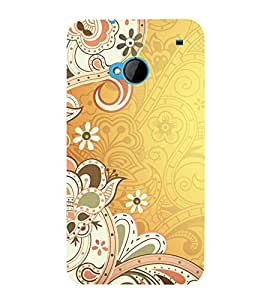 printtech Abstract Ethnic Pattern Back Case Cover for HTC One M7