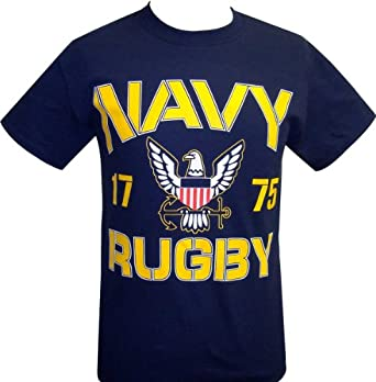 Buy Navy Rugby T-Shirt by Red Rhino Sports