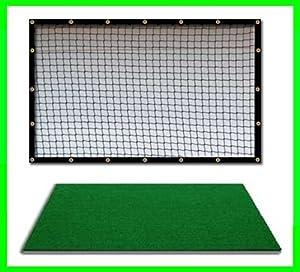 Golf Mat Golf Net Combo 9