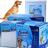 Gardner Pet THE BEST Super-Absorbent 24 by 24 Inches Dog Training Pads - 50 Count of Pads