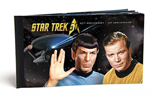 Star Trek 50th Anniversary - Prestige Stamp Booklet - Captain Kirk, Spock, Scotty, Doctor Leonard