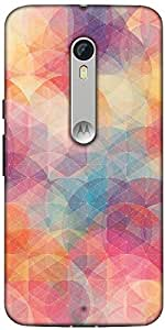 Snoogg Cube Spaces Designer Protective Back Case Cover For Motorola Moto X Style
