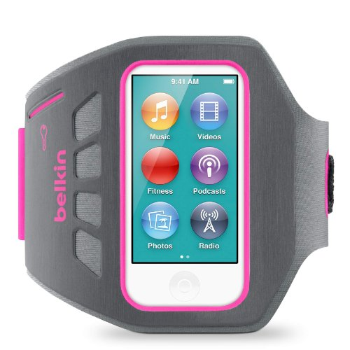Belkin Easefit Armband For Ipod Nano 7Th Generation (Dayglow)