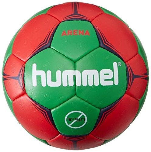 arena-hummel-pallone-da-pallamano-per-adulti-unisex-handball-arena-rosso-verde-2