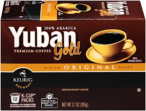 Yuban Gold Original K-Cup Packs - 12 count (Keurig Coffee Yuban compare prices)