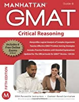 GMAT Strategy Guide, 5th Edition: Critical Reasoning, Guide 6 ebook download