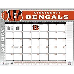Turner Perfect Timing 2015 Cincinnati Bengals Desk Calendar, 22 x 17 Inches (8061443)
