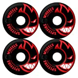 Spitfire Black Bighead Color Series High Performance Skateboard Wheel (Set of 4)