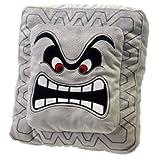 """Super Mario Thwomp Plush Cushion Pillow 9"""""""