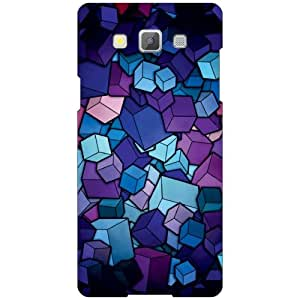 Samsung Galaxy A5 SM-A500GZKDINS/INU Back Cover - Blue Combination Designer Cases