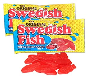 Swedish fish red fish soft and chewy candy 2 for Swedish fish amazon