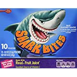 Betty Crocker Shark Bites Fruit Flavored Snacks 10-0.8oz pouches (NET  WT 8 oz box )