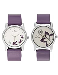 XPRA Analog Combo Of Women's Watch-PPL-CMB-RBT-FLW