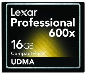 Lexar Media 16GB Professional UDMA 600X CompactFlash Memory Card