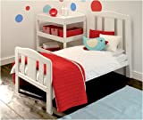 Morston Drop Side Cot Bed White