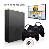 HD Video Game Entertainment System , Retro Game Console 4K HDMI Output Built-in 800 Classic Game Console with 2PCS Joystick (Color: Black)