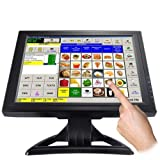 SageTech - 15 Inch Touch Screen Techscreen LCD VGA Monitor POS System