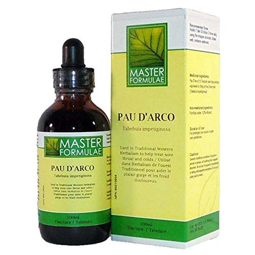 Pau D'Arco Inner Bark - 1.69Oz Sore Throat Herbal Tincture