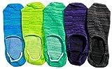 【靴下 メンズ】【メンズ フットカバー】 スリッポンなどにもピッタリ!MIXカラーのフットカバーソックス 5足セット | メンズソックス