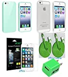 Anti-Scratch 5x Front and Back Clear Screen Protector Apple iphone 5G