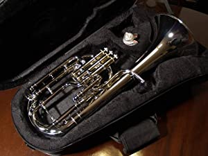 NEW BRASS B Flat BARITONE Horn W/CASE