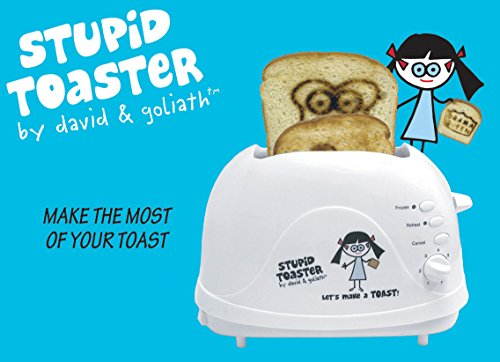 Stupid Toaster, David & Goliath, White