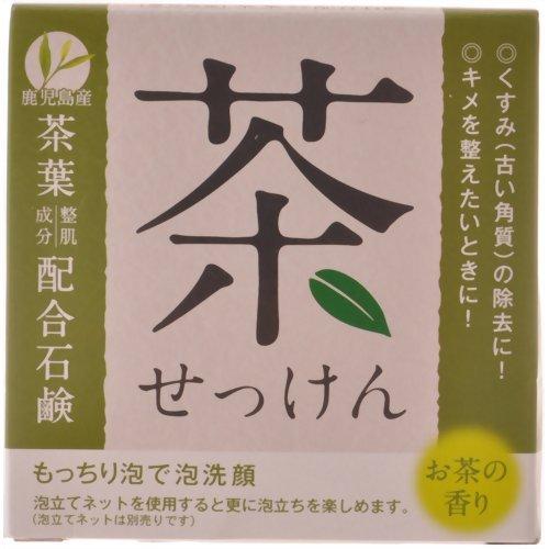 クロバー 茶葉配合石鹸 HYAーSCH