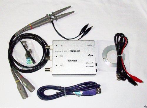 Riorand(Tm) Rrddso100 Hdso-100 Usb Dds 50M Bandwidt Dual-Channel Digital Storage Oscilloscope