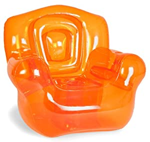 Bubble Inflatables Inflatable Chair Tangerine Orange from Bubble Inflatables