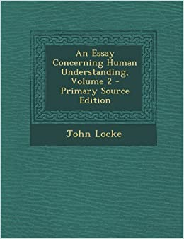john locke an essay concerning human understanding book 2 chapter 1