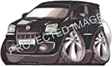 Fiat Panda Car Sticker Decal - Koolart