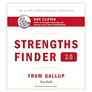 StrengthsFinder 2.0 Audiobook by Tom Rath Narrated by David de Vries