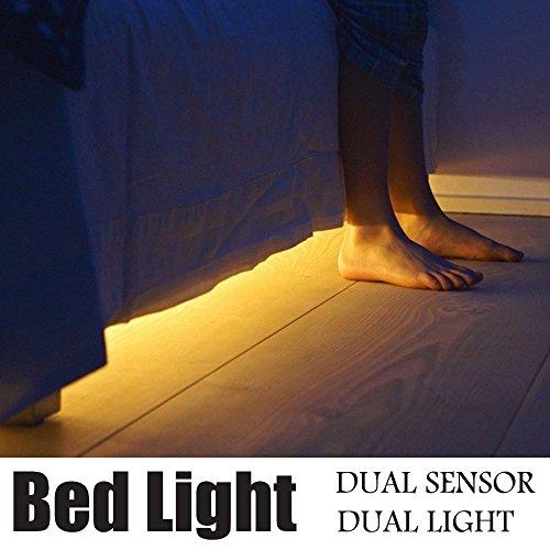 Motion Active Bed Light - JVR LH29 Flexible LED Decoration Strip Light for Sofa Roof Stair Decoration Night Light [並行輸入品]